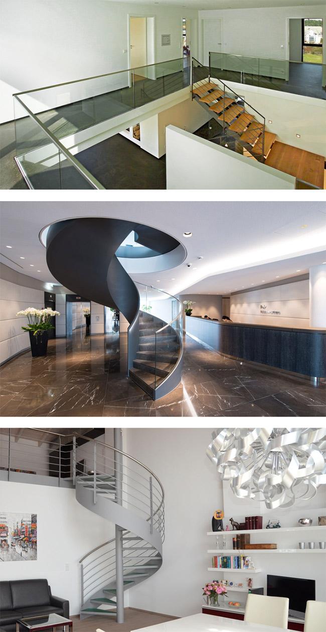 spitzbart treppen® | Design-Glasgeländer nach DIN 18008 | Finden Sie ...