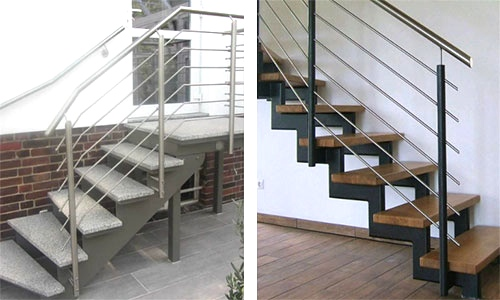 ruback edelstahl naturstein design plz 12529 berlin freitragende aussentreppe aus. Black Bedroom Furniture Sets. Home Design Ideas