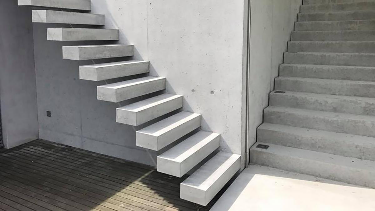 beton treppen
