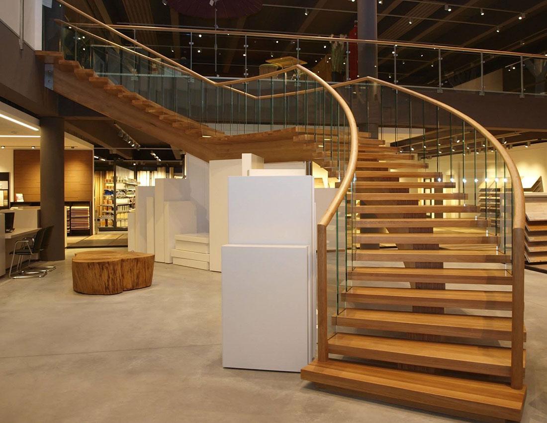treppenbau plz 44149 dortmund mittelholmtreppe aus