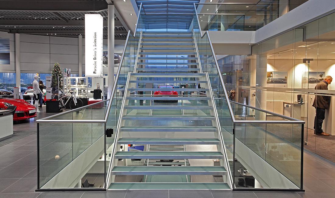 Treppenbauer Rostock hark treppenbau | plz 33649 bielefeld | stahl-glastreppe mit