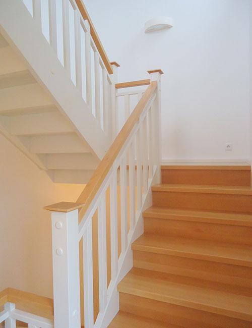 Setzstufen Treppe feuerstein treppen plz 36160 dipperz massivholztreppe mit