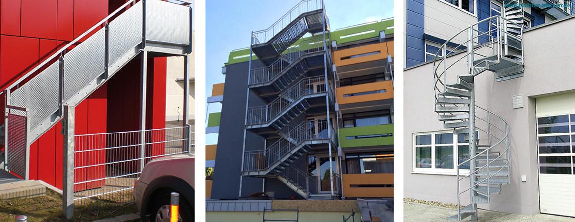 Treppen Haubner haubner treppen plz 92318 neumark außentreppen aus verzinktem