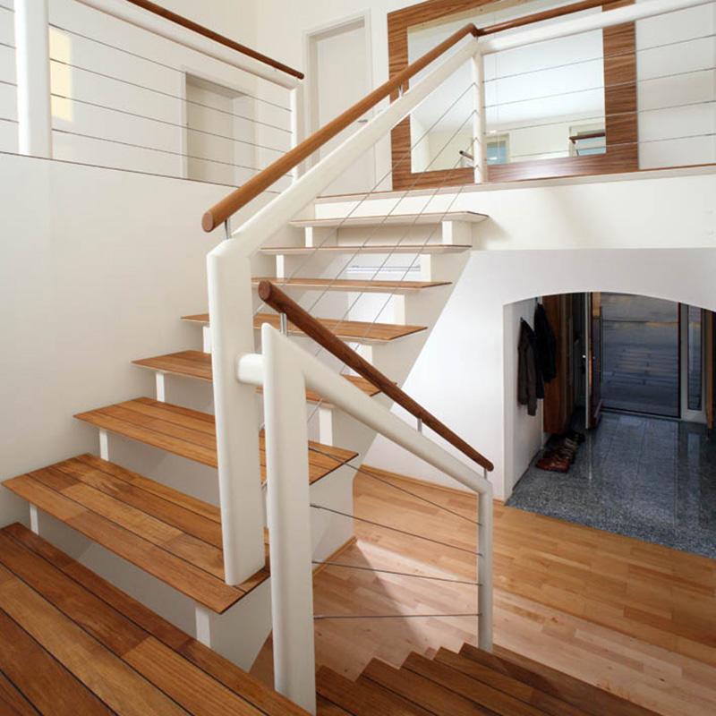 gerade treppe modern gerade treppe buche mit seitlich befestigt schmidmayer treppenbau plz. Black Bedroom Furniture Sets. Home Design Ideas