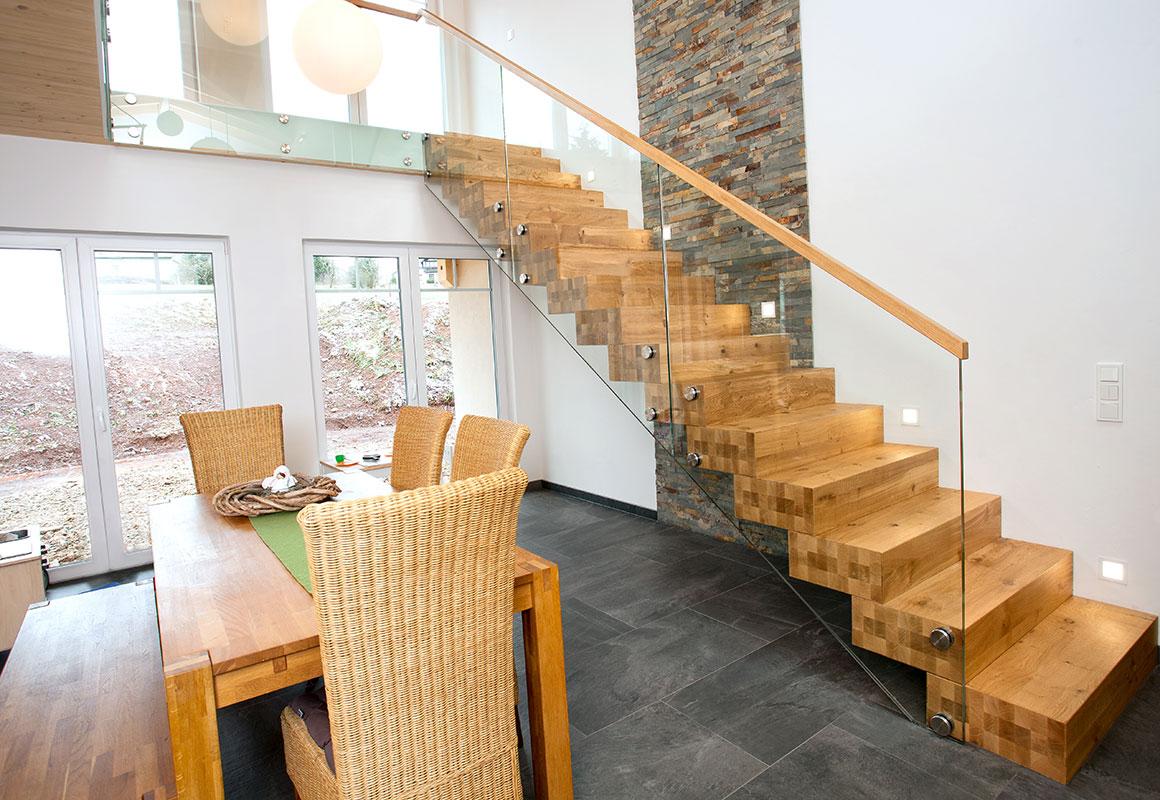 Blockstufentreppe Von Küchen Tretter