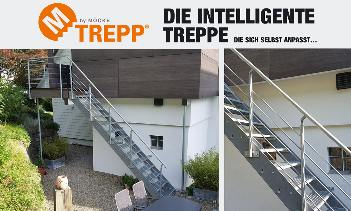 m trepp by m cke plz 77761 schiltach die treppe die sich selbst anpasst treppen. Black Bedroom Furniture Sets. Home Design Ideas
