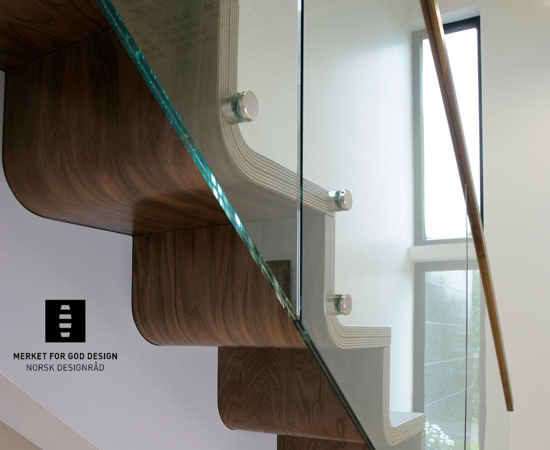 melby treppen plz 24619 bornh ved designtreppe aus schichtverleimten stufen und glasgel nder. Black Bedroom Furniture Sets. Home Design Ideas