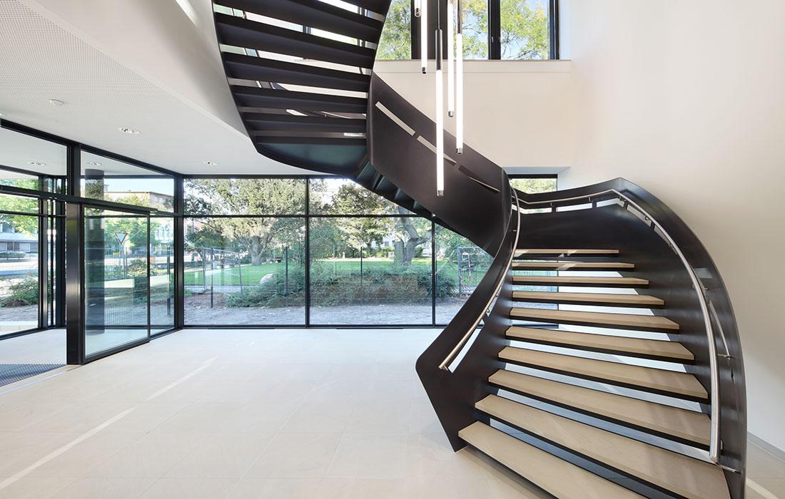 metallart treppen gmbh plz  salach metalltreppe