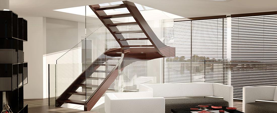 sillertreppen italien plz 81545 m nchen holztreppe mit glasgel nder treppen treppenbau. Black Bedroom Furniture Sets. Home Design Ideas